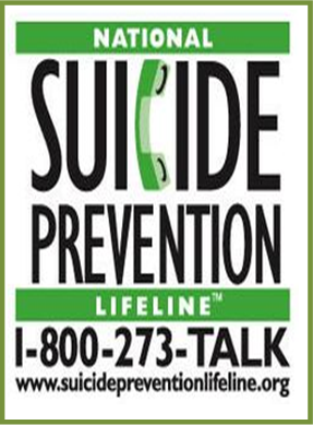 Suicide Lifeline Graphic